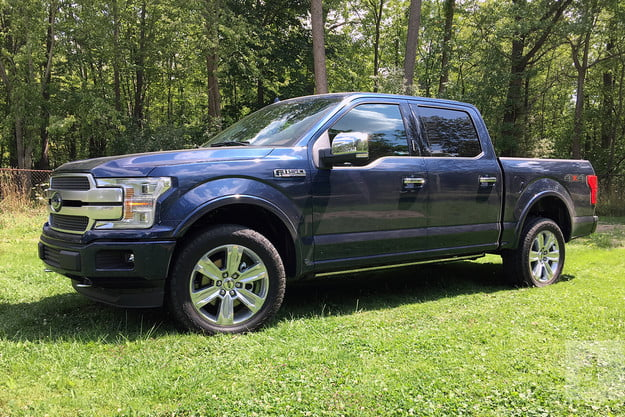 2018 Ford F 150 review front side