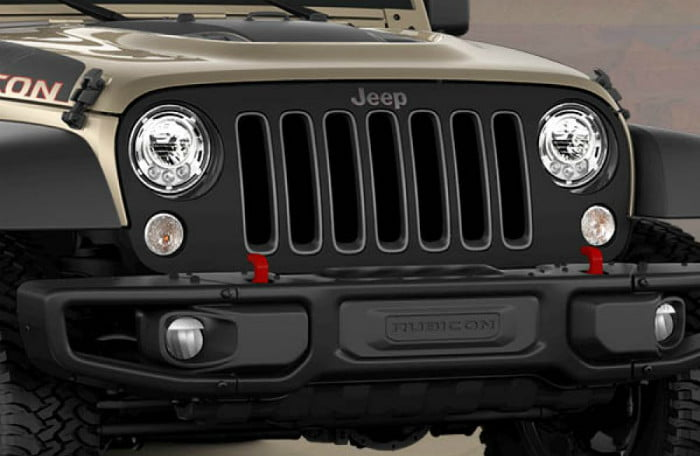 2018 Jeep JK Wrangler Recon winch capable bumper with removable endcaps