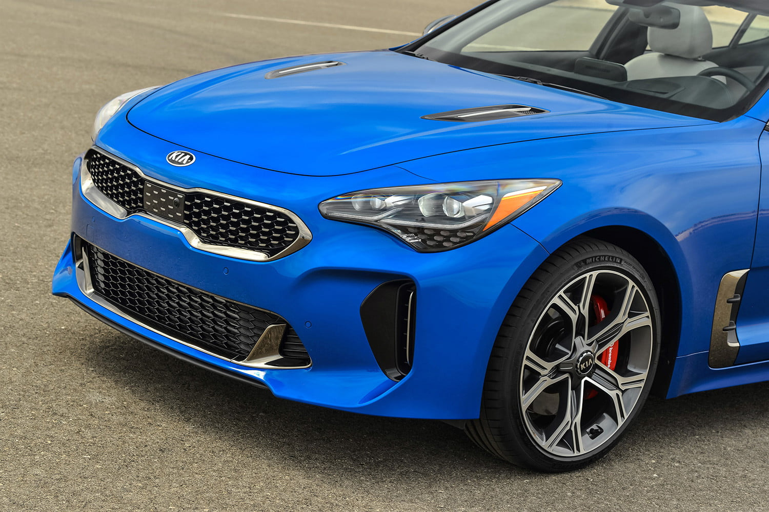 kia orth hedrick interview 2018 stinger front side