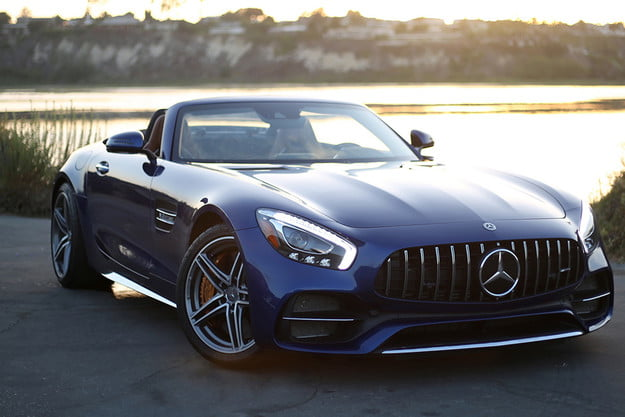 2018 mercedes amg gt c roadster review gmt dt feat