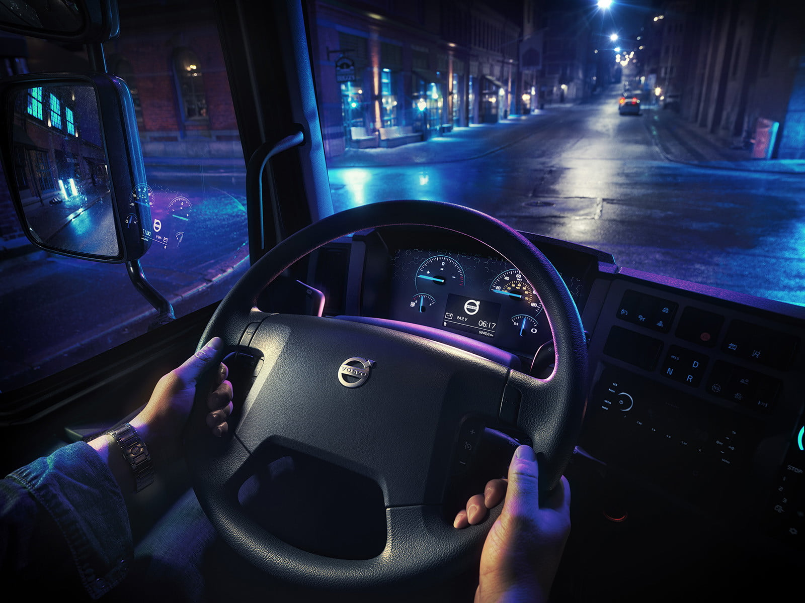 volvos introduces first ever all electric truck 2018  volvo trucks new fl 3