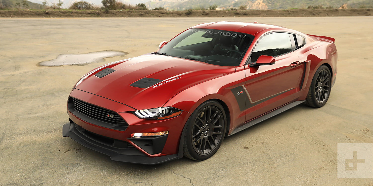 2017 Roush Stage 3 Mustang Track-Bred Handling
