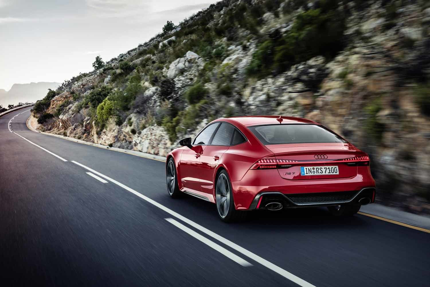 2020 audi rs 7 sportback packs 600 horsepower intuitive infotainment system
