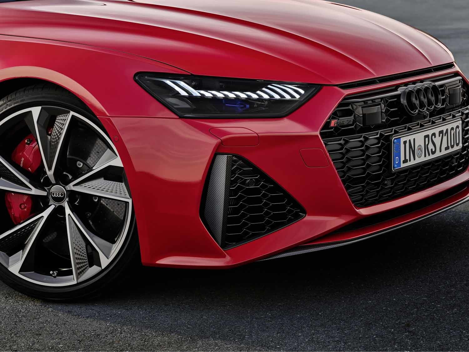 2020 audi rs 7 sportback packs 600 horsepower intuitive infotainment system 9