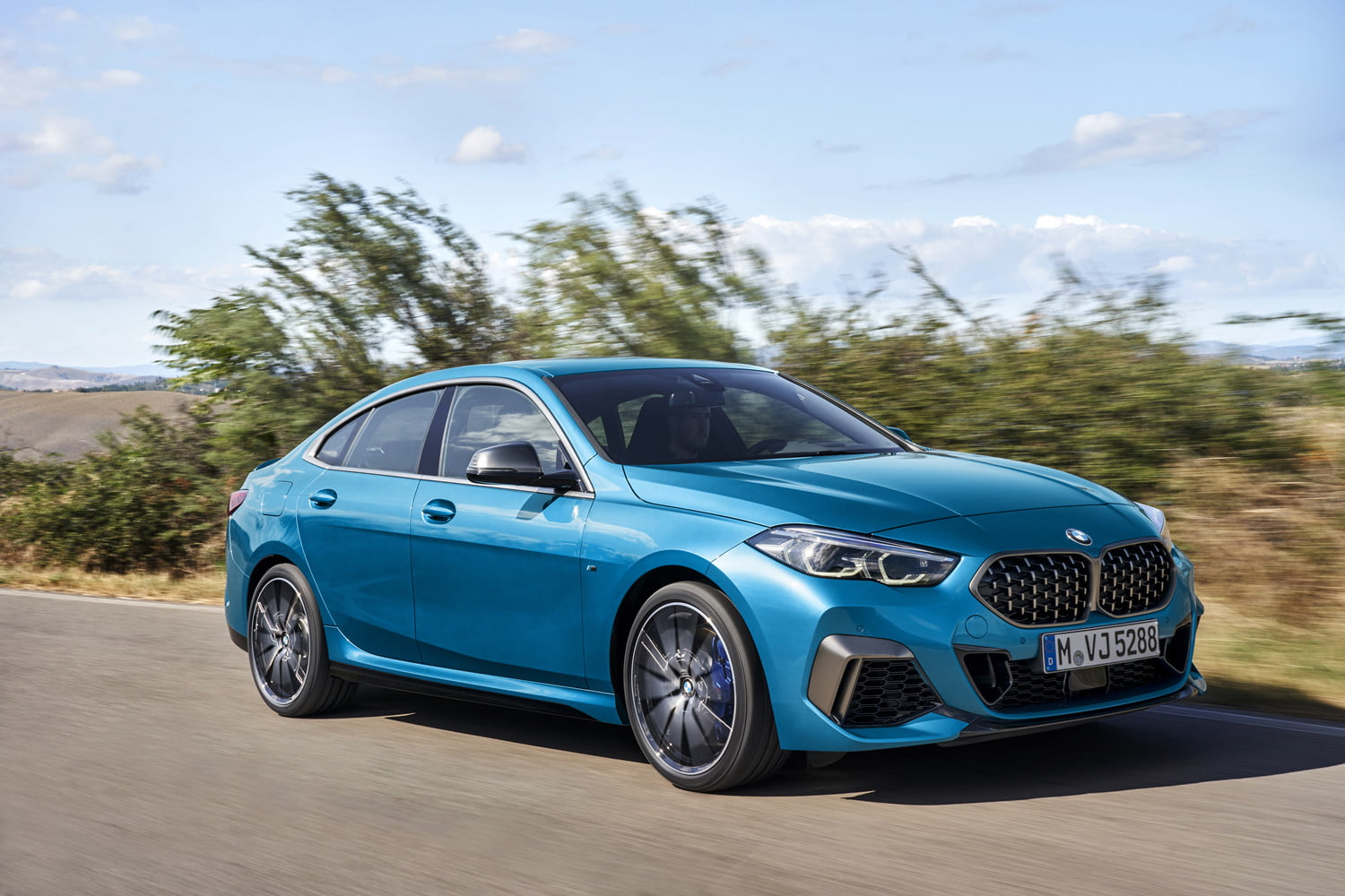 2020 bmw 228i m235i gran coupe unveiled as entry level sedans 2 series gc off 3