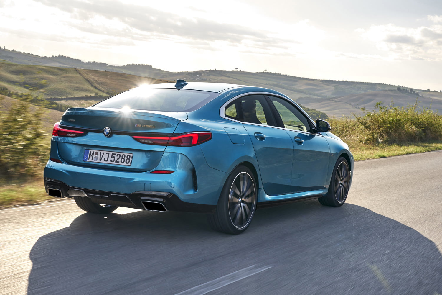 2020 bmw 228i m235i gran coupe unveiled as entry level sedans 2 series gc off 5