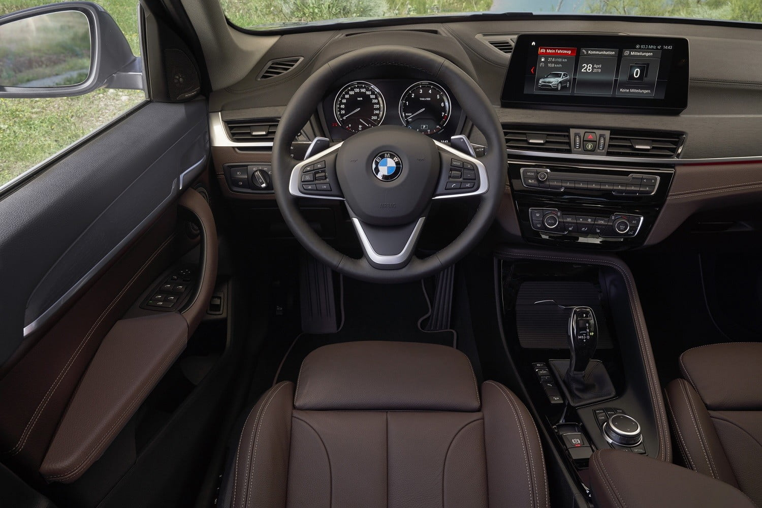 2020 bmw x1 gets new look front end interior upgrades official 7