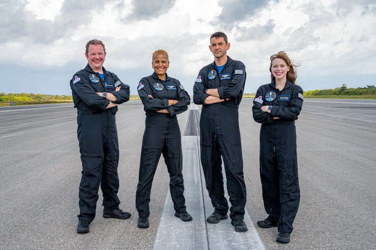 The Inspiration4 crew recently arrived in Florida ahead of the mission launch.