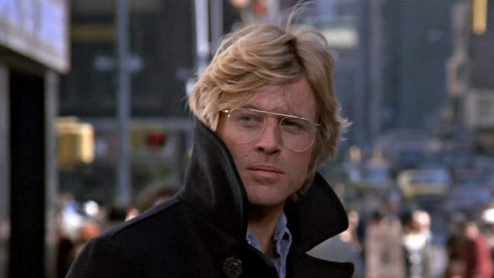 Robert Redford in 3 Days of the Condor.