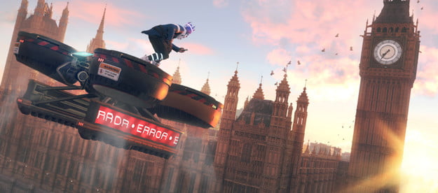 watch dogs legion review fly drone