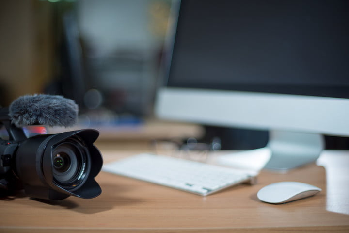 best free video editing apps 2 31164219  workstation with camera beside monitor