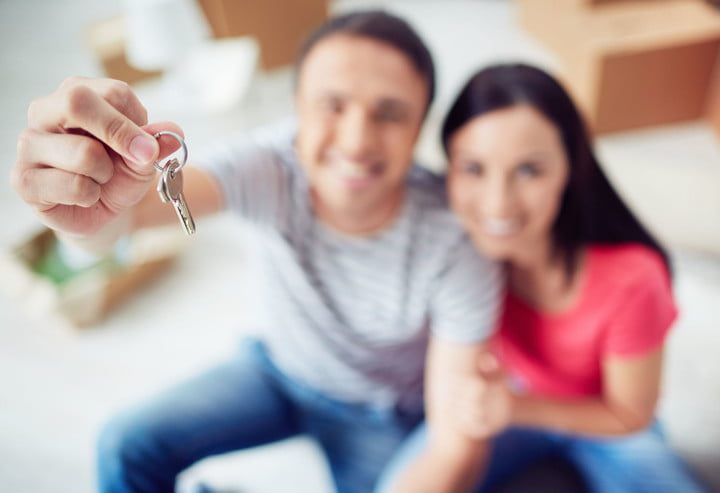 facebook marketplace apartment rental 38983239  young couple showing key from new