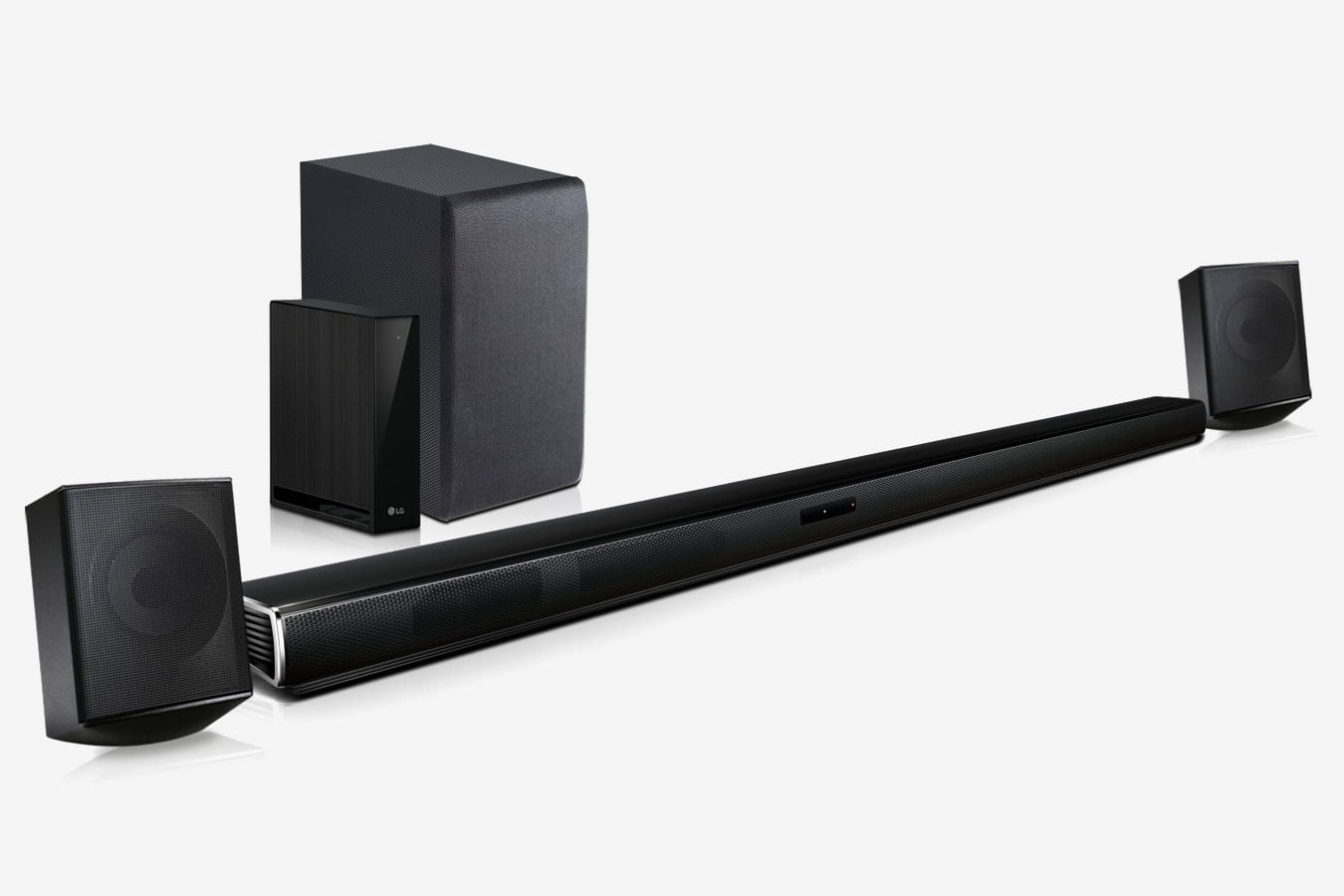 LG 4.1 channel soundbar system