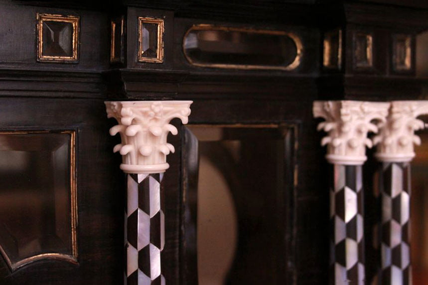 3d printed ivory used in restoration of the shrine of Friedrich III of Austria