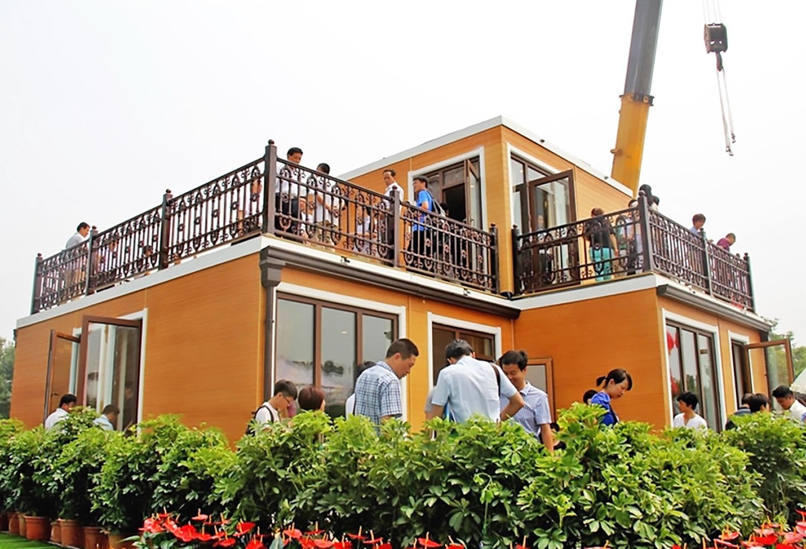 chinese company constructs 3d printed home in three hours 3dprinted1