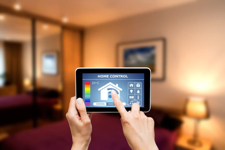 smart home security precautions 42356423  remote control system on a digital tablet or phone