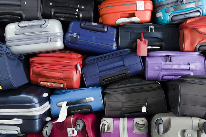 netherlands kpn lora internet of things 43910047  suitcases multicolor stacked for transport one above the other