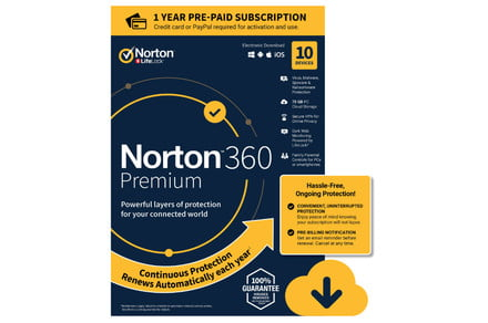 Save 66% on Norton and McAfee virus protection at Staples