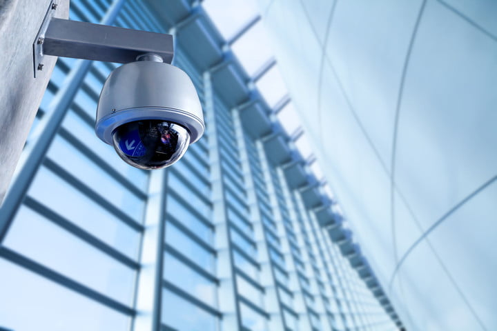 dc ransomware cameras 51697332  security cctv camera in office building