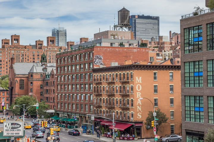airbnb tax revenue loss states 51990213  view from the high line in chelsea new york