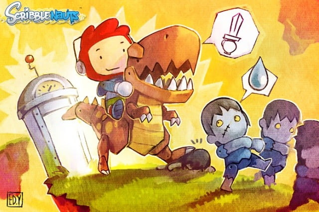scribblenauts sequel canceled developer lays off staff 5thcell header