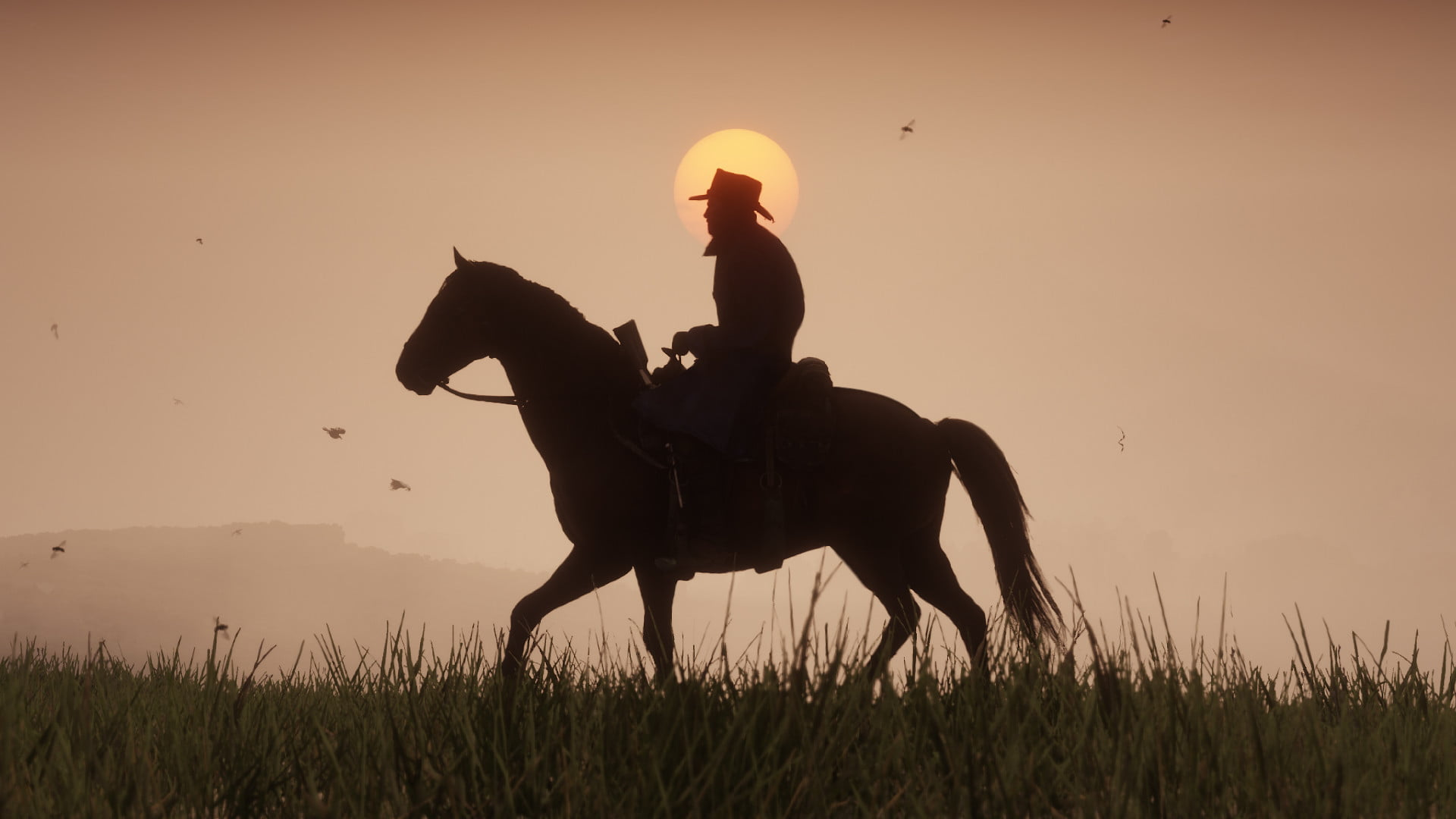 Red Dead Redemption 2 silhouette
