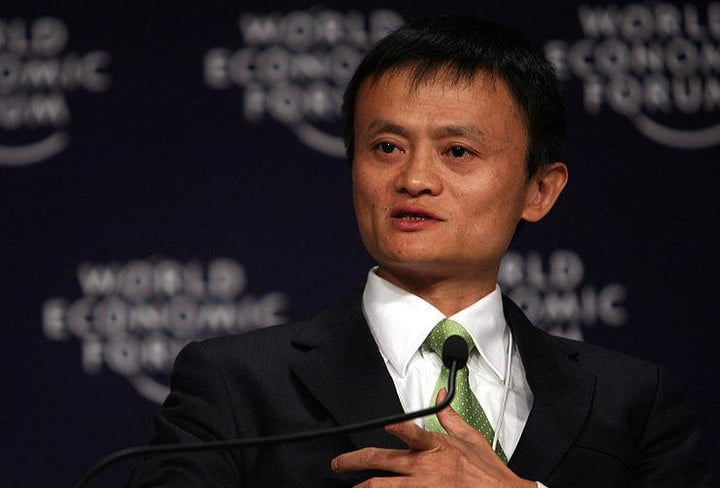 alibaba pay with face tech news jack ma