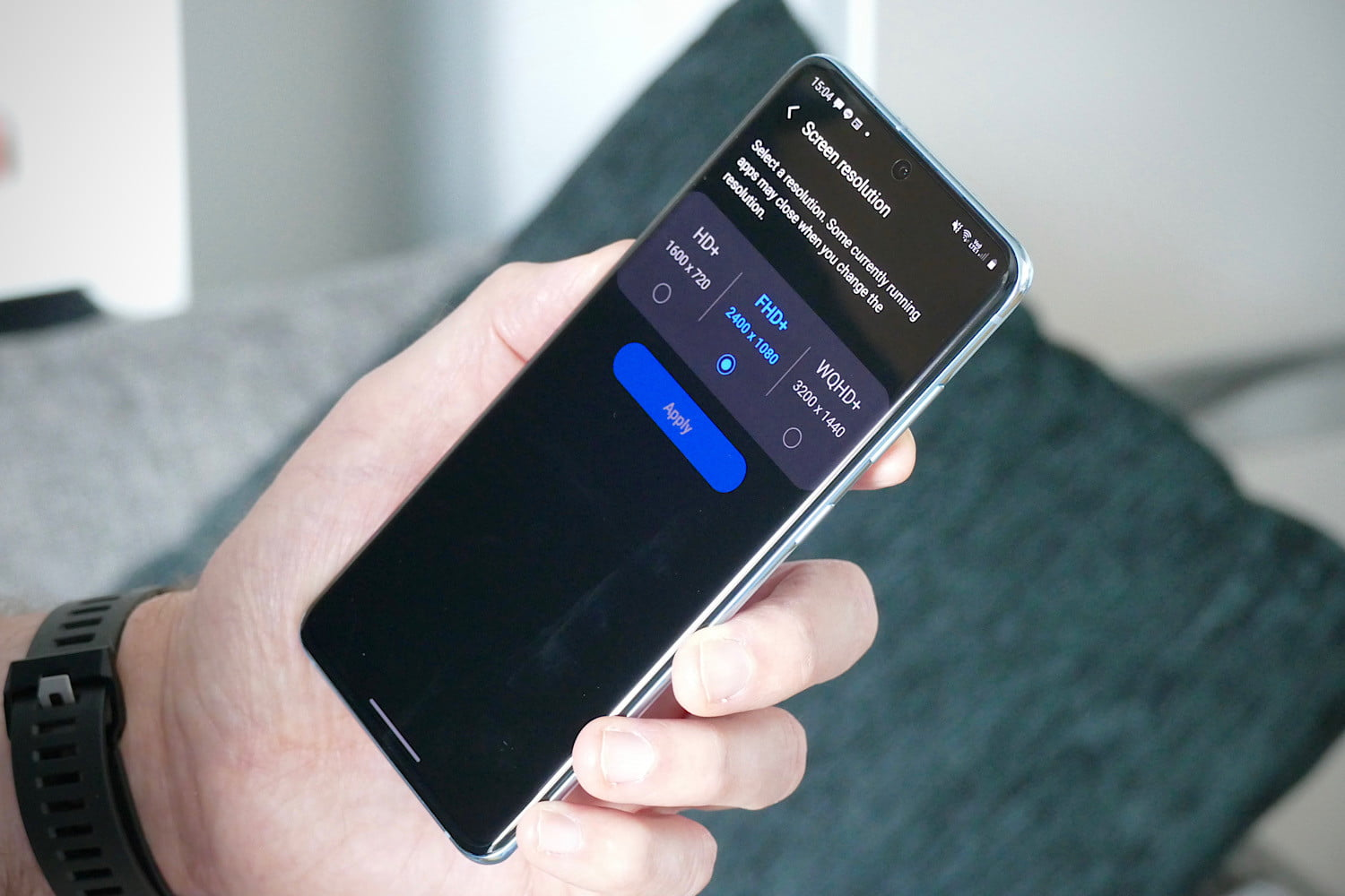 samsung galaxy s20 review resolution