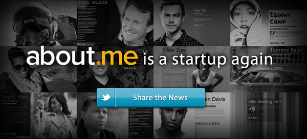 about me is a startup