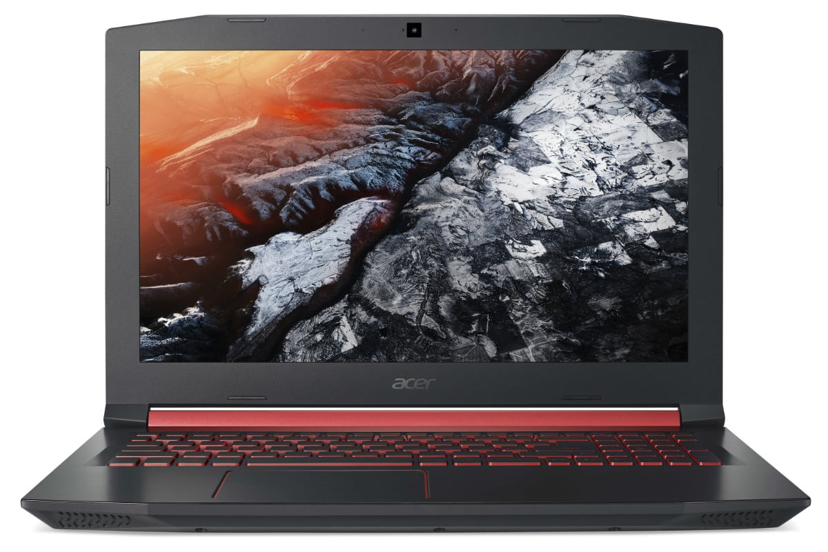acer introduces nitro 5 gaming notebook gtx 1050 ti intel optane front view