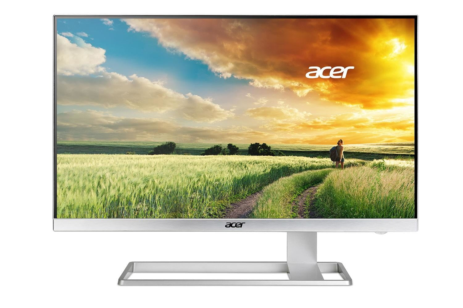 acer details 4k monitor with virtually no bezels hdmi 2 0 s27hk front press image