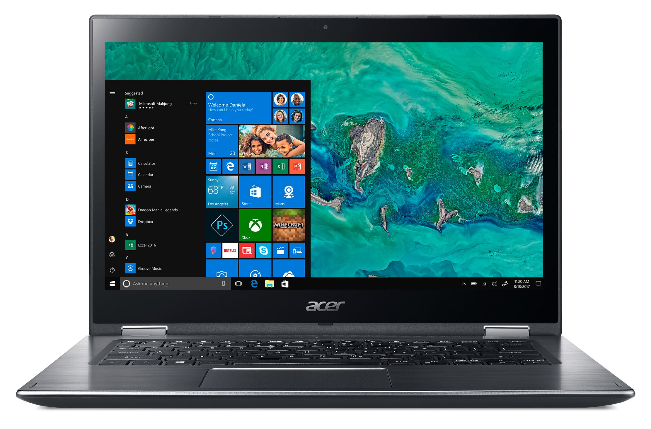 acer laptop swift 7 news ces 2018 spin 3  sp314 51 02