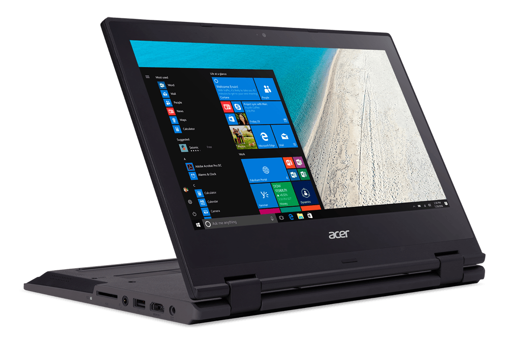 acer introduces travelmate spin b1 windows 10 s convertible b118 06