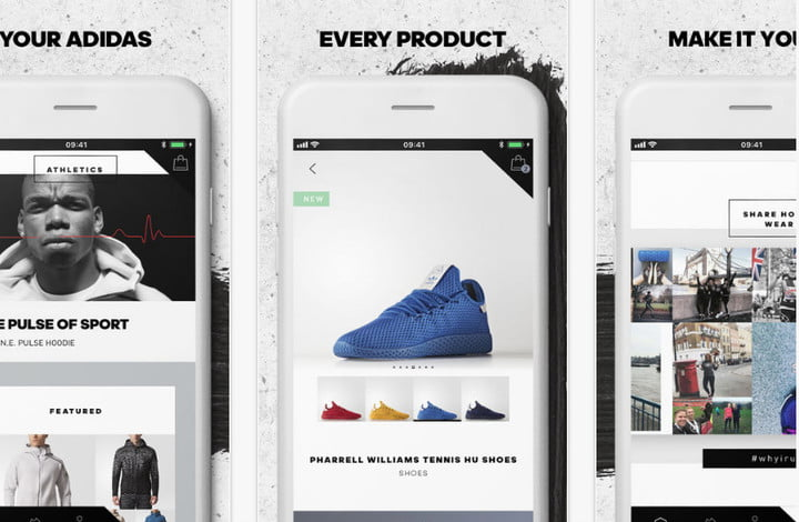adidas shopping app for mobile