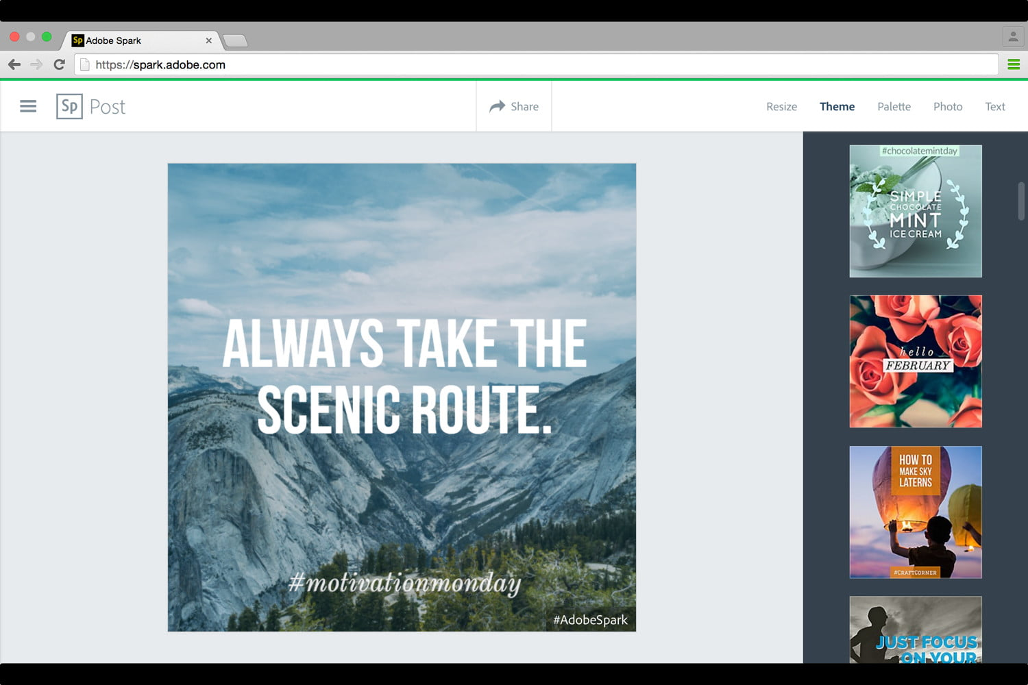 adobe launches spark design apps web 2