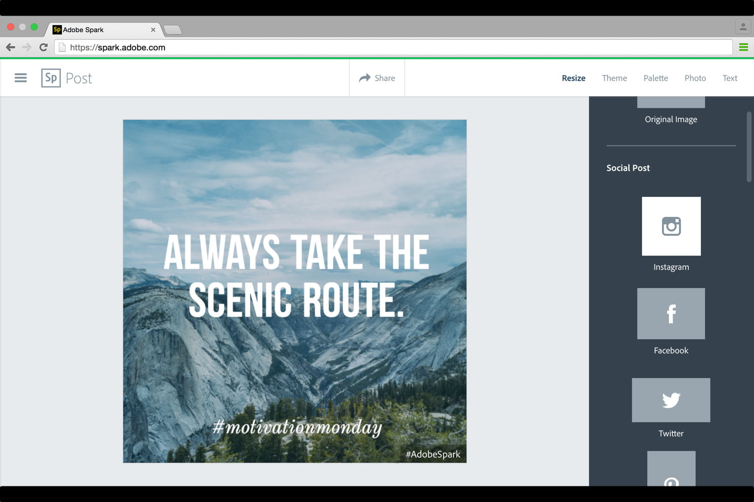 adobe launches spark design apps web 7