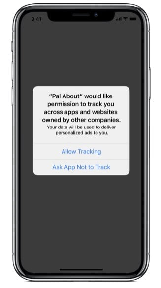 App Store ad tracking.