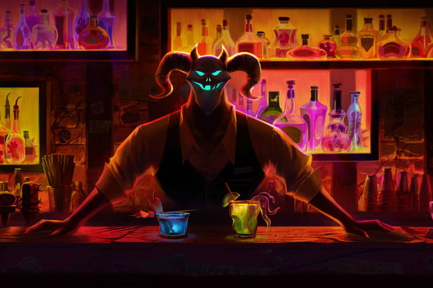 Afterparty bartender