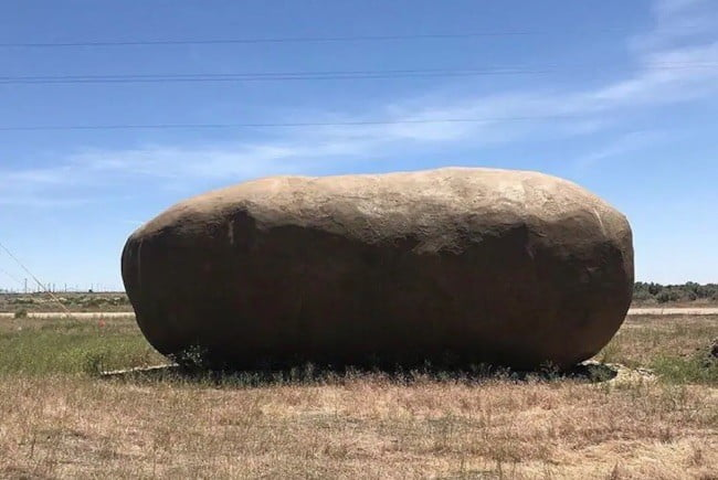 a giant carb free potato has just become an airbnb rental  1