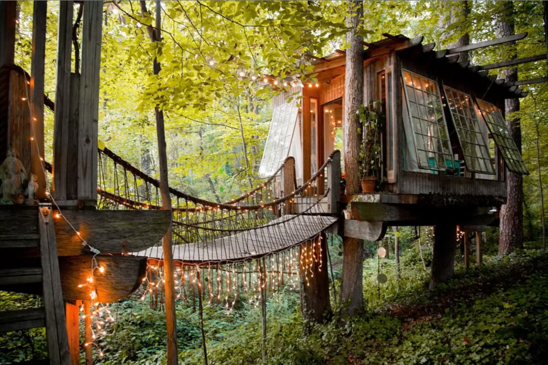 airbnb releases list of most wish listed properties treehouse 5