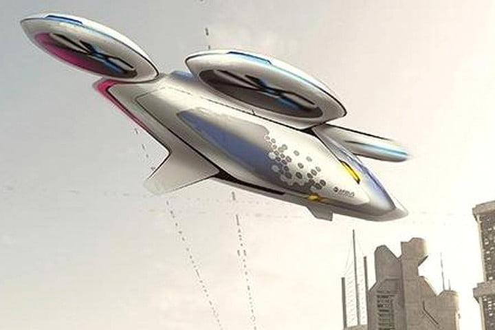 airbus flying taxi airbuscar