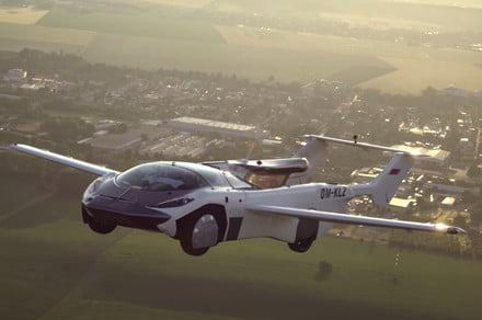 Watch this flying car make history with first inter-city flight