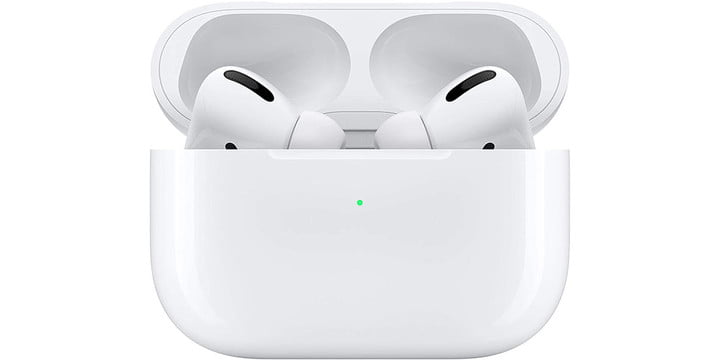 AirPods Pro on a white background.