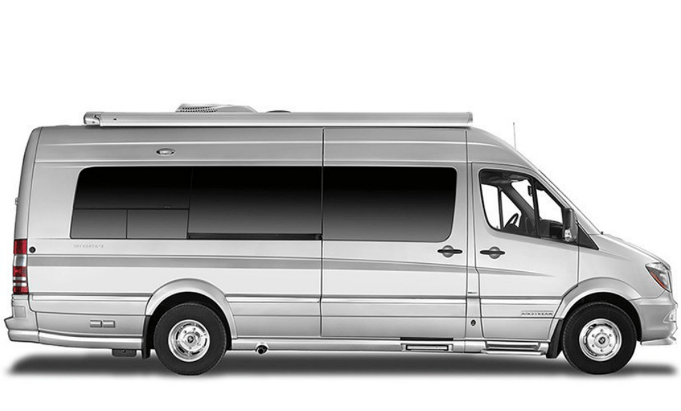 airstream interstate grand tour ext silver curb side