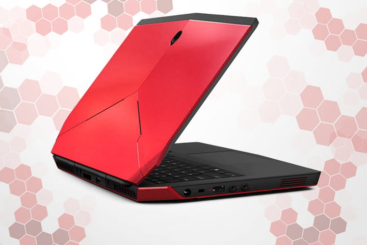 alienware 13 inch gaming laptop oled dell in red