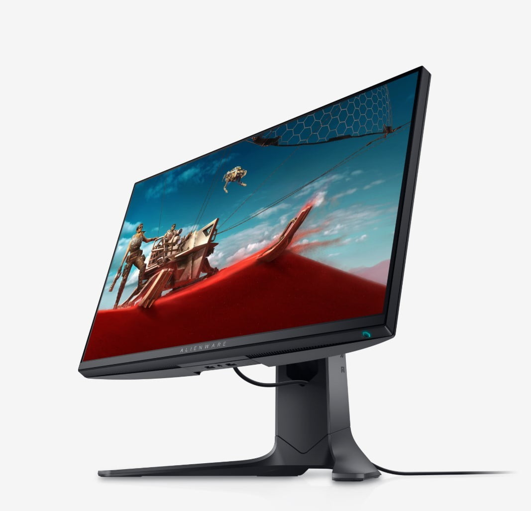 dell refreshes pc monitors ultrasharp ces 2020 alienware 25 gaming monitor side