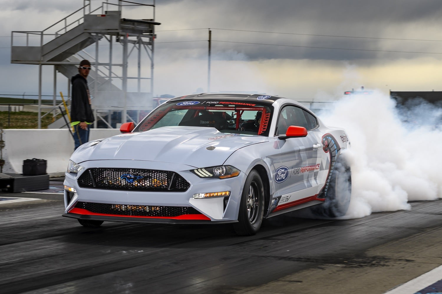 ford introduces electric mustang cobra jet 1400 prototype