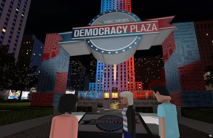nbc and altspacevr team up for vr debates
