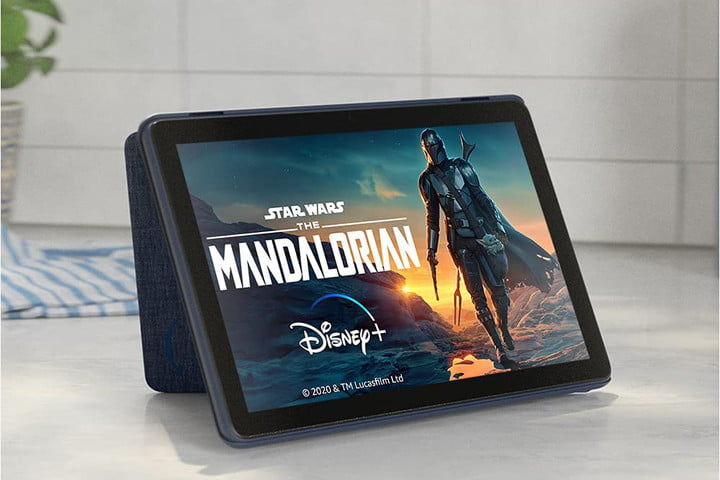 Amazon Fire HD 10 tablet 2021 is the best budget tablet.