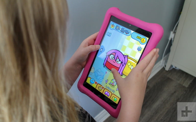 Amazon Fire HD 8 Kids Edition is the best Android tablet for kids.